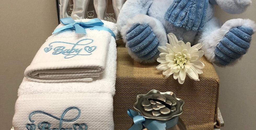 Baby Boy Boomer Gift Basket
