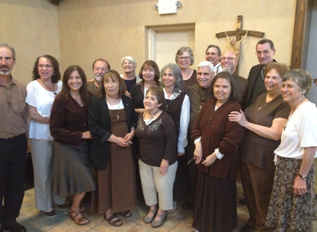 Franciscan Seculars Announce Profession of Nancy Allain & Al Smith to the Franciscan Order