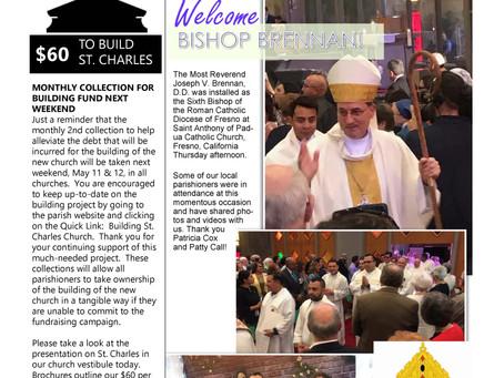 Bulletin: May 12, 2019