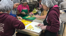 Sierra View Junior Academy Commits to Monthly Kitchen Duty