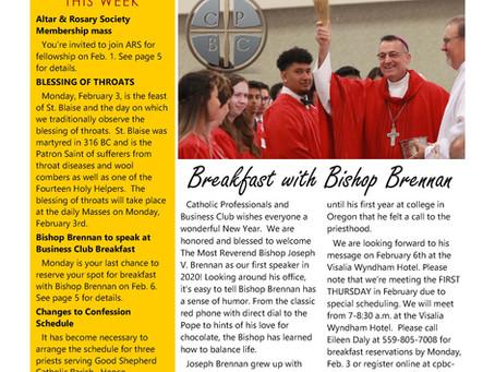 Bulletin: February 2, 2020