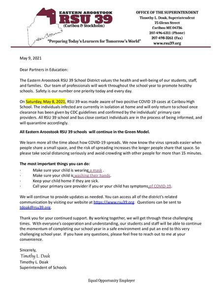 Covid Notice 5-9-2021