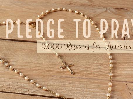 Parish Exceeds Goal, Prays 13,044