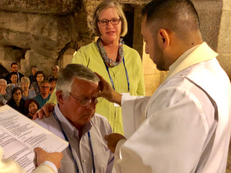 Parishioner Received Confirmation and First Eucharist in Bethlehem