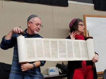 Deacon Candidates get Torah Lesson