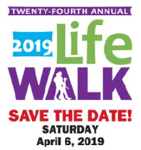 Sponsor Fr. Cesar at the Life Walk
