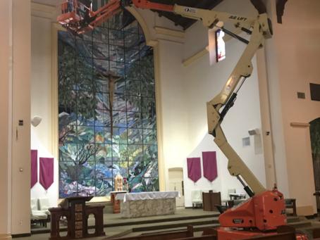 Maintenance staff receives thanks for their faithfulness