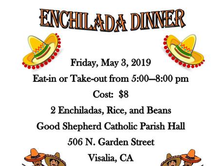 ProLife Ministry Enchilada Dinner