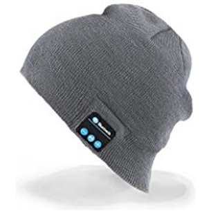 Momoday Bluetooth Music Soft Warm Beanie Hat Cap with Stereo Headphone Headset