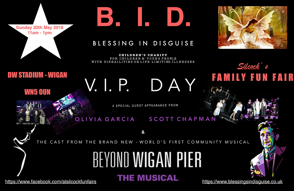 Beyond Wigan Pier The Musical - Live on stage  at BID VIP Fun Fair event