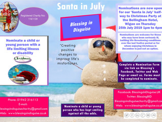BID Santa in July 2019