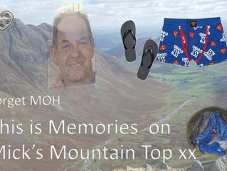 Thank you to Mick Davies - Mick's Mountain Challenge