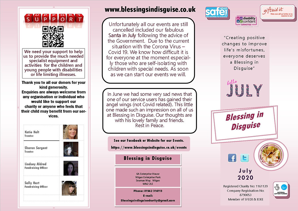 Newsletter July 2020 Page 1