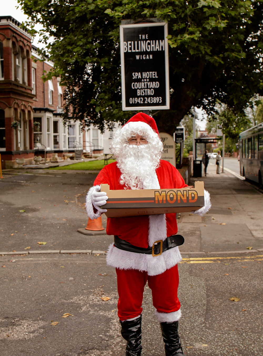 Santa in July at The Bellingham Hotel - Sunday 24th July 2016