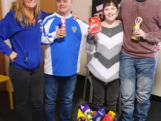 Blessing in Disguise Easter Bunnies VIP visit to Just BU cic, Manchester