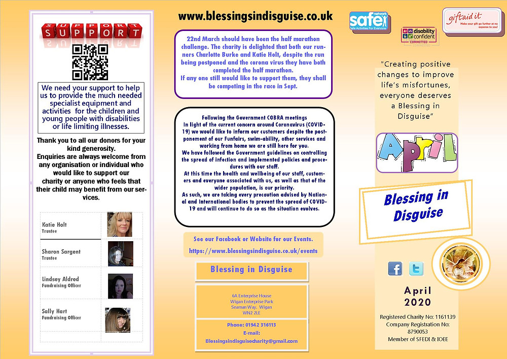 Newsletter April 2020 page 1