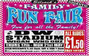 BID VIP Fun Fair - DW Stadium, Wigan with A.L. Silcock 2018-05 20