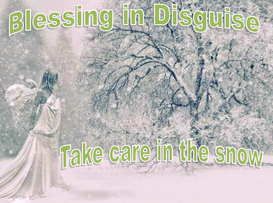 Blessing in Disguise Take Care in the Snow #BeastFromTheEast