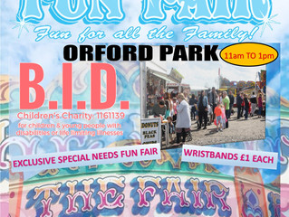 Blessing in Disguise V.I.P. Fun Fair 5th May 2019 with A.L. Silcock Fun Fairs - Warrington