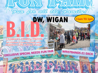 Blessing in Disguise V.I.P. Fun Fair 19th May 2019 with A.L. Silcock Fun Fairs - Wigan