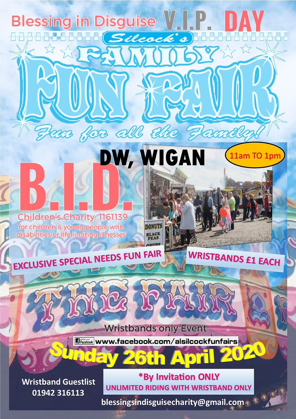 2020-04 26 - 26th April 2020 VIP Fun Fair, DW Wigan