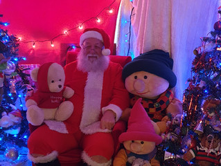 Santa's Grotto Now Open! At our BID HQ