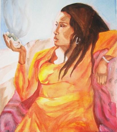 shell woman