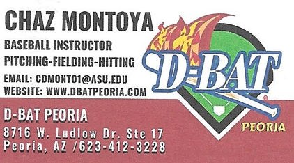 A Business Card to contact Chaz Montoya