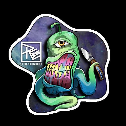 RCBW Alien Inlay Sticker