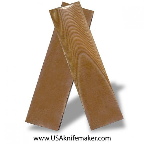 Natural Linen Micarta for Knives that Require 1 Scale