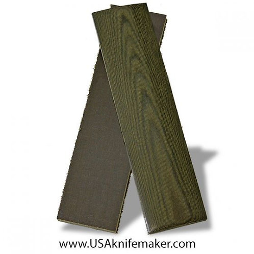 Od Green Linen Micarta for Knives that Require 2 Scales