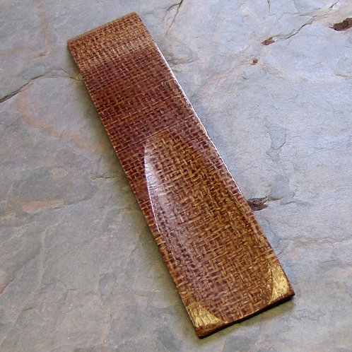 Burlap Micarta for Knives that Require 1 Scale
