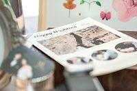 婚禮拍照道具婚禮日報