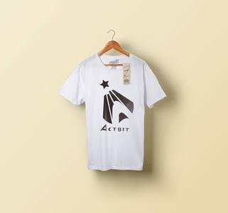 アクトビット様ロゴTシャツイメージ