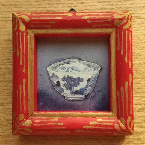 「亀山焼椀茶碗」