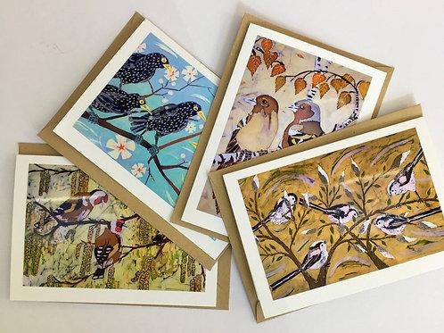 Garden Birds Card Collection