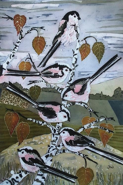 Winter Flock Ltd Edition Giclee Print