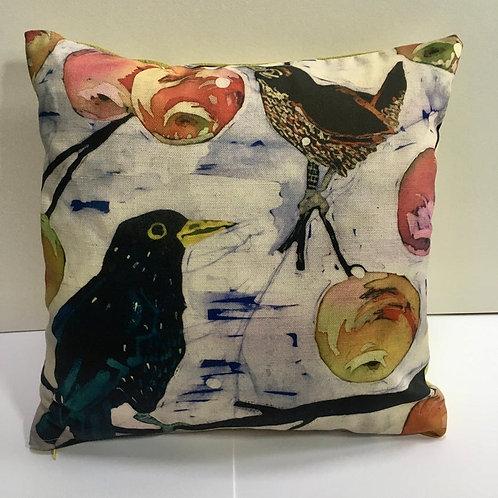 Starling Wren Cushion