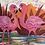 Thumbnail: Tropical Flamingos Ltd Edition Archive Print