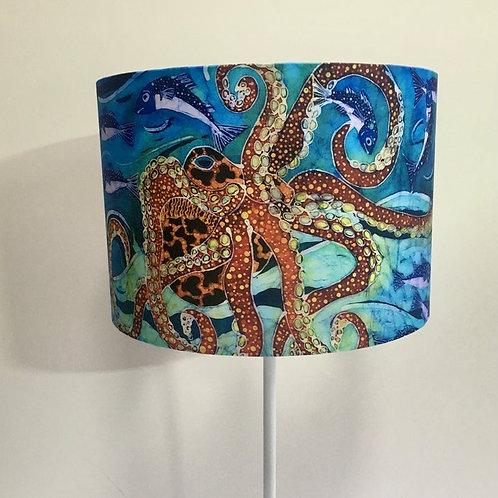 Swimming Octopus Lampshade