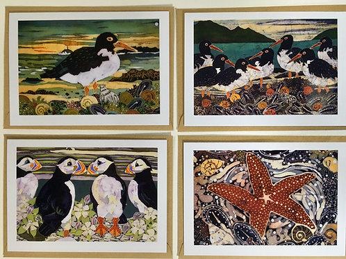 Seashore Card Collection