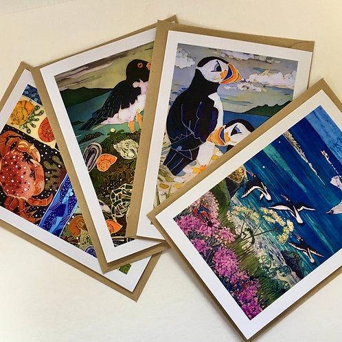British Coast Card Collection