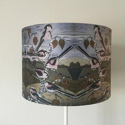 Winter Flock Lampshade