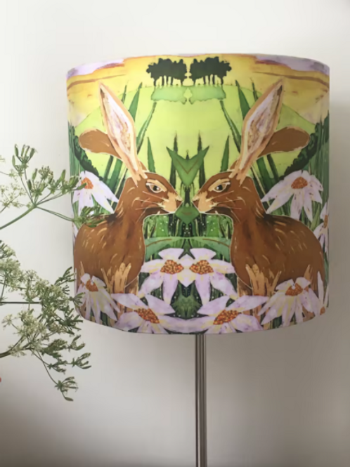 Summer Hare Lampshade