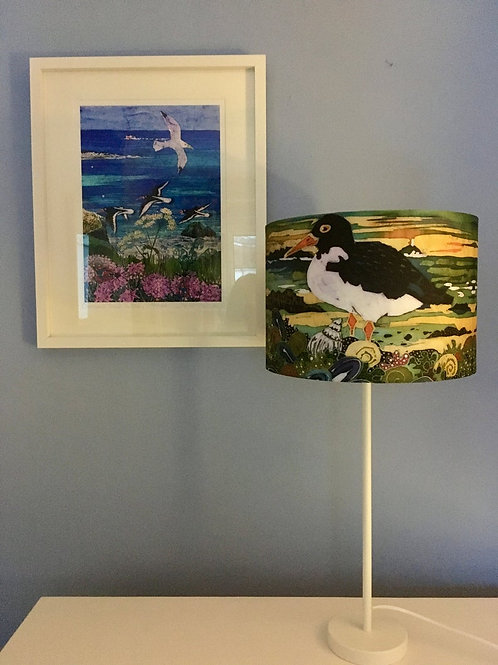 Oystercatcher Lampshade