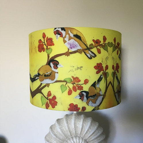 Goldfinches Lampshade