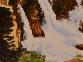 Andreas Scholz, Wasserfälle an der Ceze