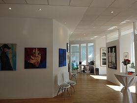 Einblick in die Prince House Gallery