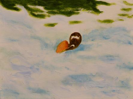 Andreas Scholz, Mädchen im Wasser