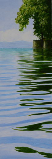 Andreas Scholz, Wasserspiegelung am Bodensee